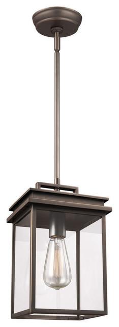 Feiss 1-Light Outdoor Pendant Lantern