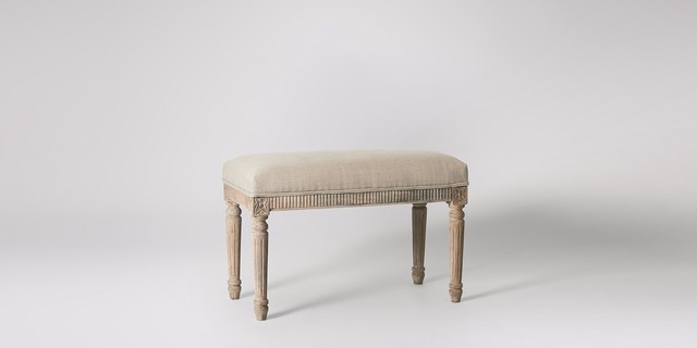 Gustavian Benches In Living Rooms
