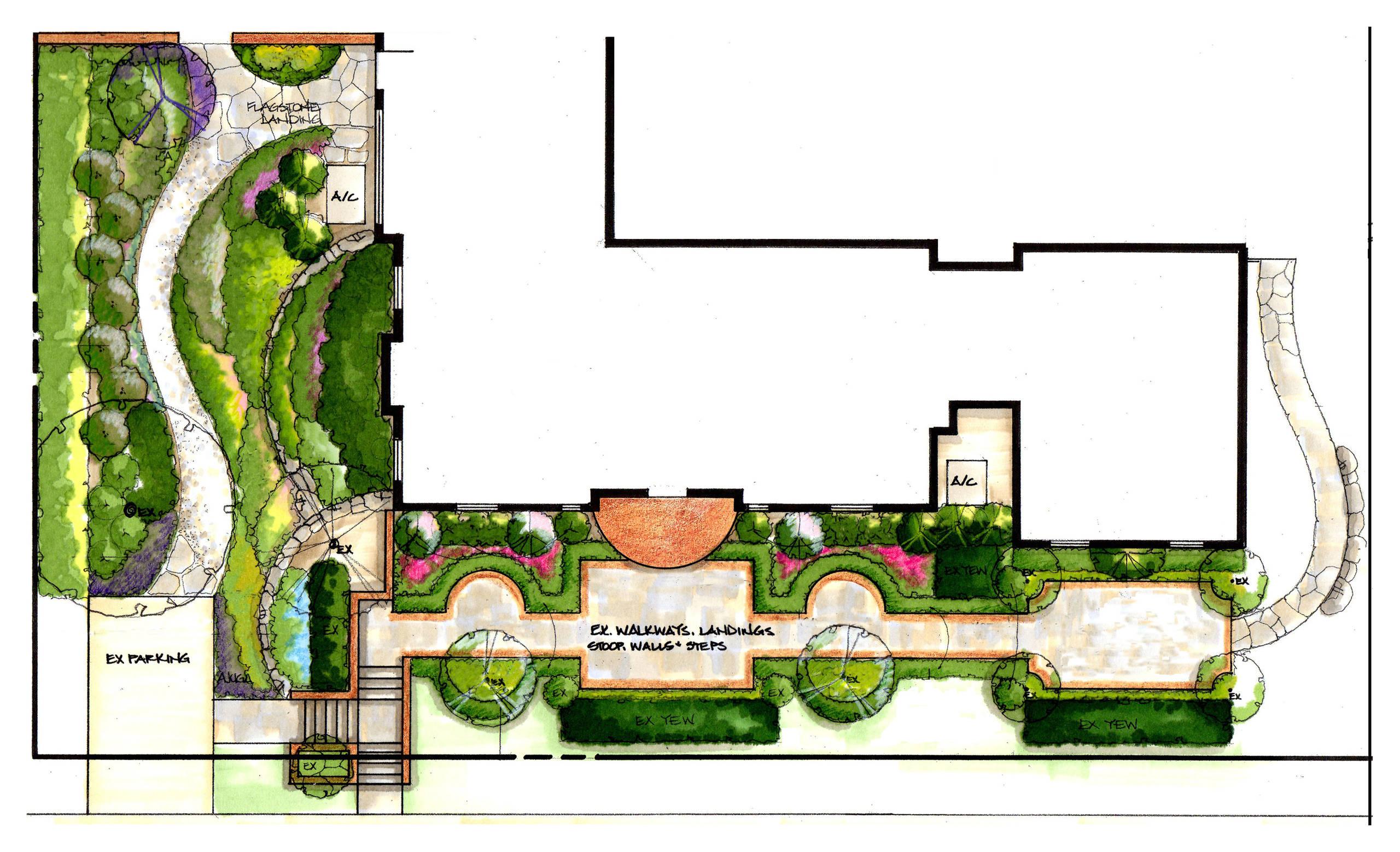 Formal and Informal Garden Plan