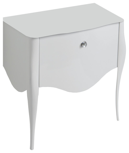 Impero Style Vanity with Swarovski Crystal Detailing Traditional
