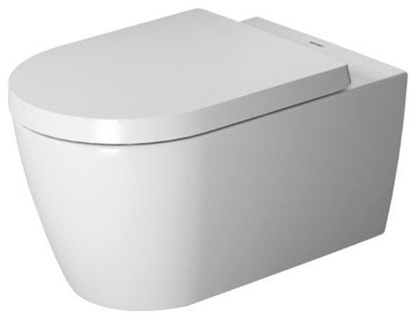 Duravit Me By Starck Wall Mounted Toilet Bowl Dual Flush White Contemporary Toilets By The Stock Market Houzz