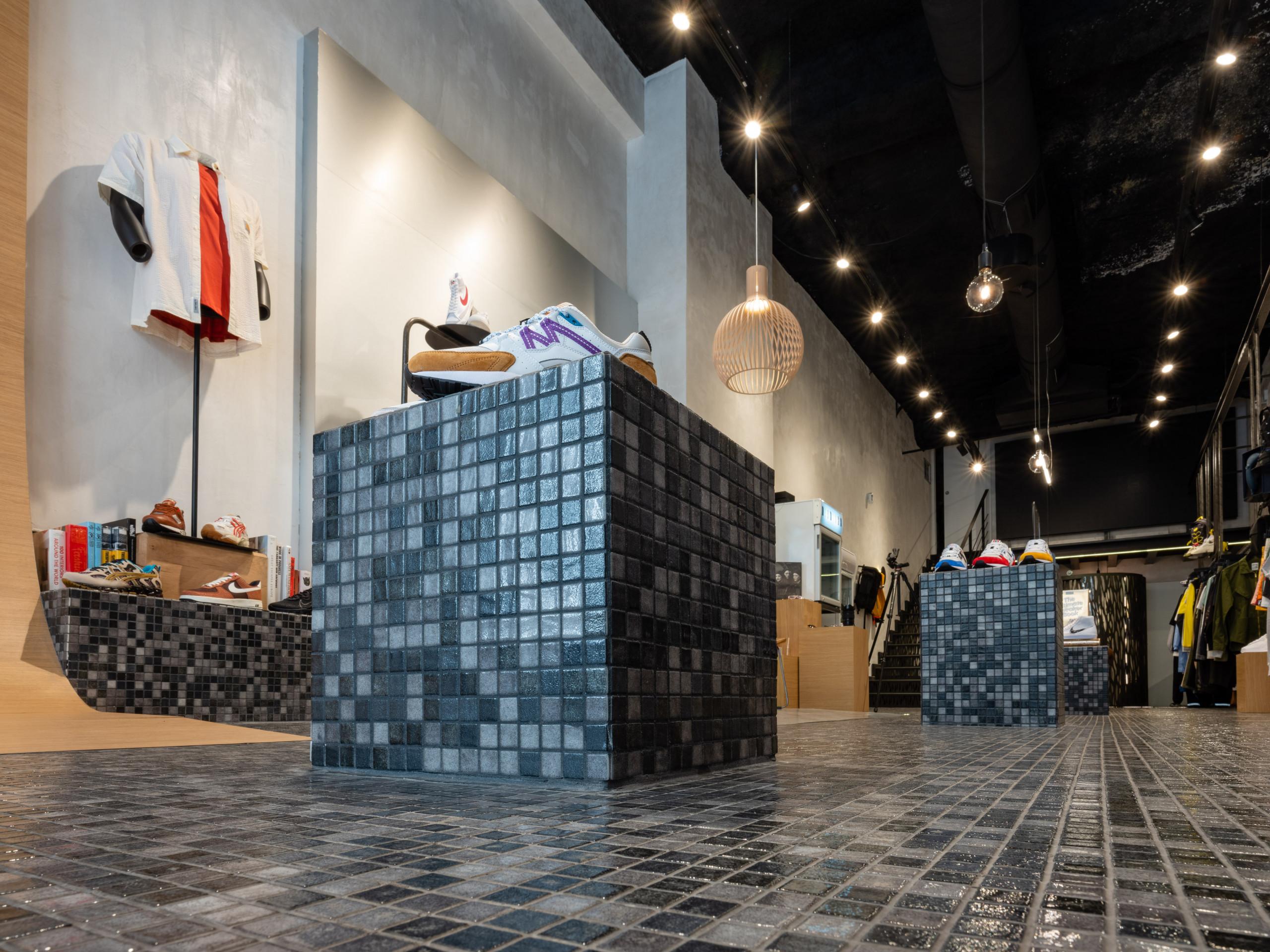 Rénovation d'une boutique marseillaise