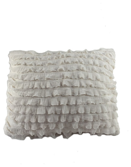 Pillow Talk Direct Ruffles Pillow - Decorative Pillows Houzz