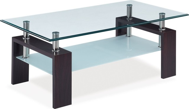 Global Furniture Coffee Table Clear Contemporary Coffee Tables