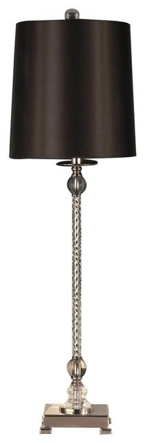 Table Lamp Dale Tiffany Zoe 1-Light Polished