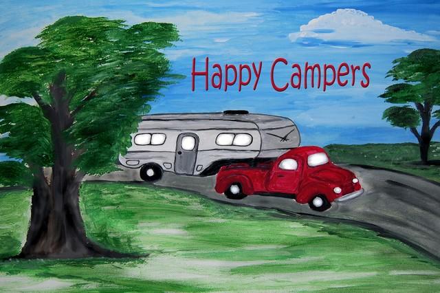 Camper 5th Wheel And Truck Indoor Outdoor Floor Mat