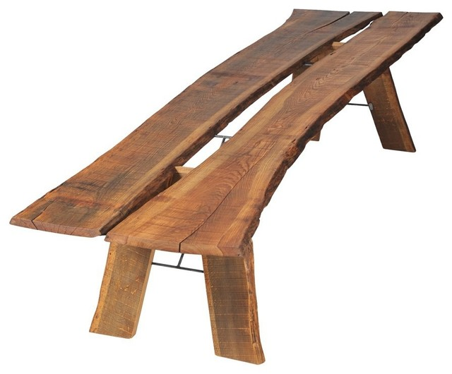 Tree Trunk Table Farmhouse Dining Tables By Ecofirstart