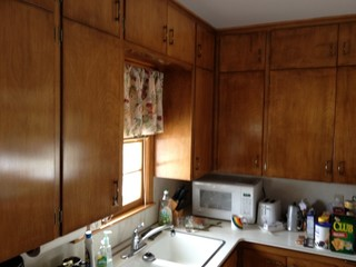 renovate kitchen cabinets going to paint cabinets white for the start of a remodel 1851