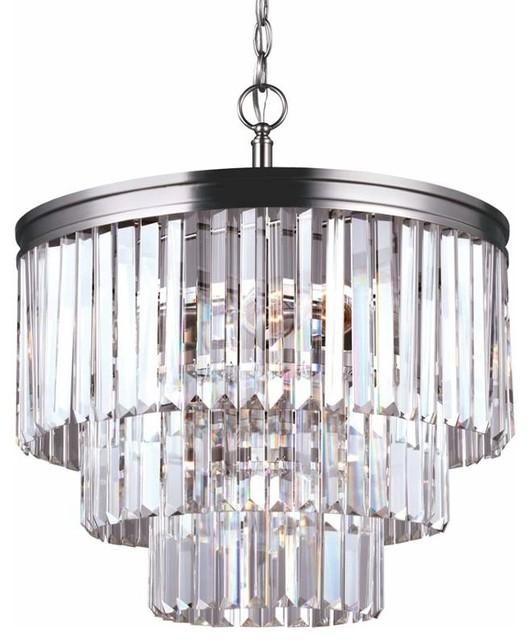 Sea Gull Lighting 3114004 Carondelet 4 Light Chandelier