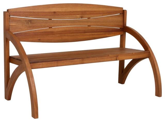 Hadia Wooden Garden Bench