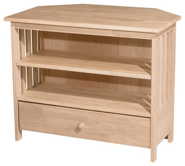 Mission Corner TV Stand - Entertainment Centers And Tv Stands - by ShopLadder