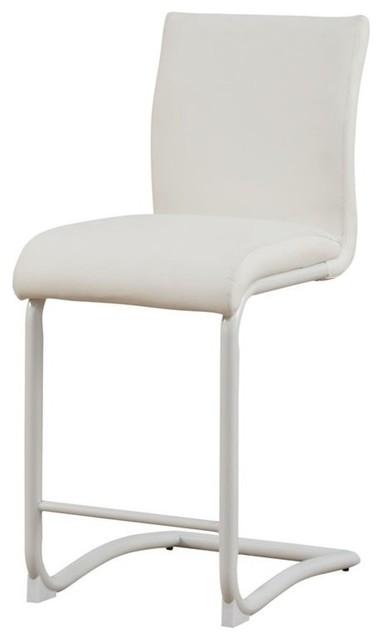 Peachy Acme Gordias Counter Height Chair In White Uwap Interior Chair Design Uwaporg