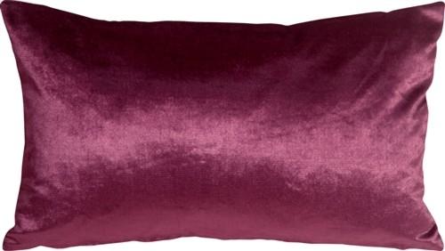 Pillow Decor - Milano 12 x 20 Purple Decorative Pillow
