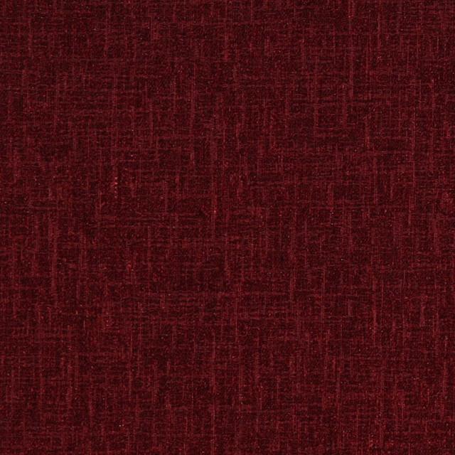Velvet Chenille Fabric Sofa: Ruby Red Soft Chenille Velvet Upholstery Fabric By The