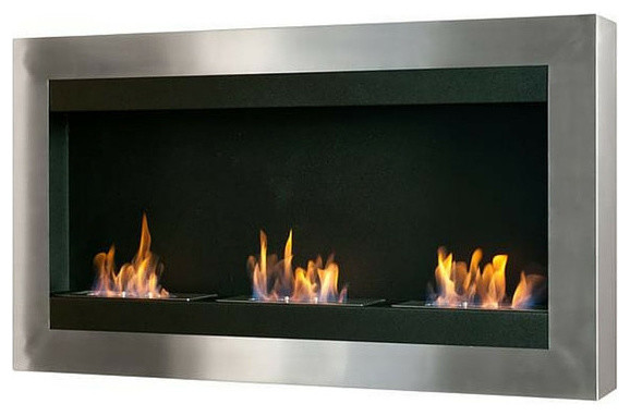 Ignis Ignis Magnum Wall Mounted Ethanol Fireplace Wmf 010 View In Your Room Houzz