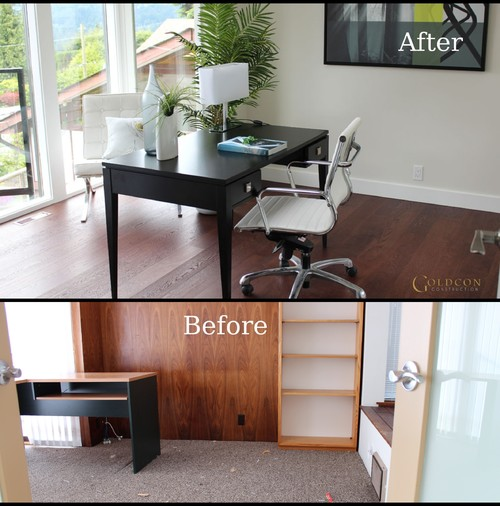 Image result for home office before and after