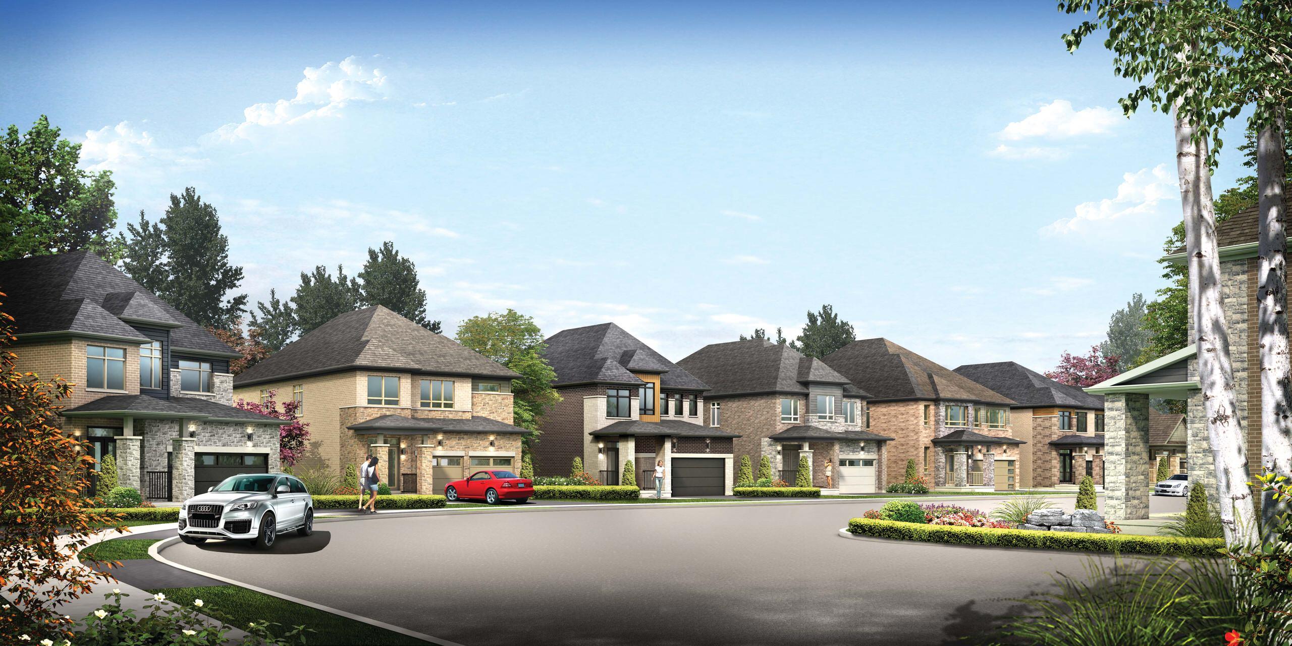 Bradley Homes Bear Creek Ridge Development Transitional Toronto By J C Design Group Inc Houzz