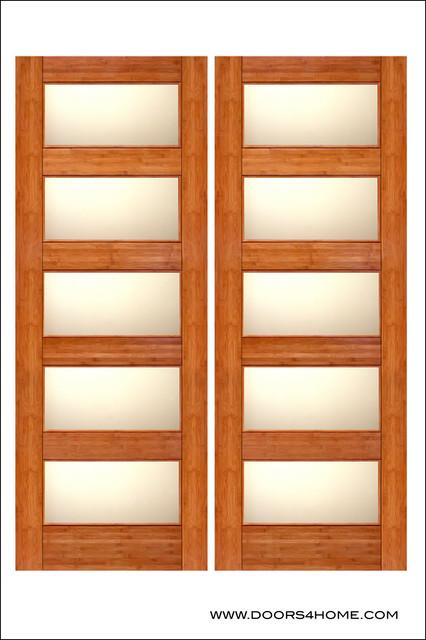 Bamboo Interior Door Model BM 11 Contemporary Interior Doors