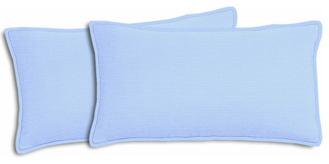 Michelangelo Outdoor Lumbar Pillows, Set of 2 - Contemporary - Outdoor Cushions And Pillows - by ...