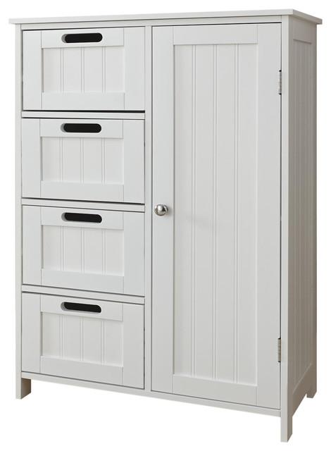 Frontier Bathroom Cabinet, White