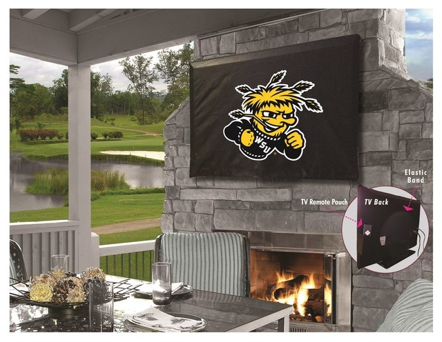"""Wichita State TV Cover for TV Sizes 50""""-56"""" by Covers by HBS"""
