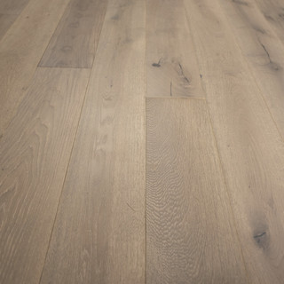 French Oak Prefinished Engineered Wood Floor Nevada Sample Beach - What color wood floors are in style