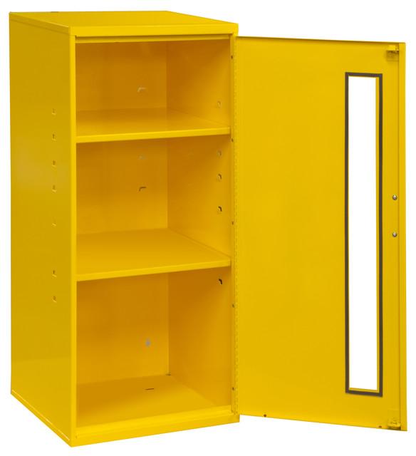 Durham Steel Spill Control/Respirator Cabinet 2 Shelves Yellow  sc 1 st  Houzz & Durham Steel Spill Control/Respirator Cabinet 2 Shelves Yellow ...