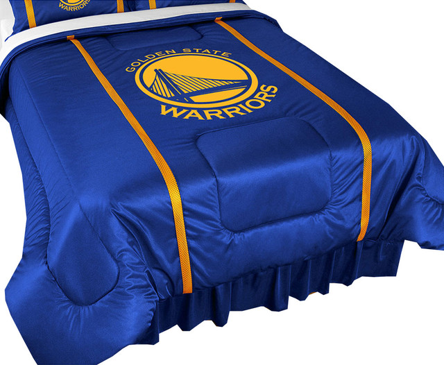 NBA Golden State Warriors Comforter Basketball Logo Bedding  King  contemporary comforters and. NBA Golden State Warriors Comforter Basketball Logo Bedding
