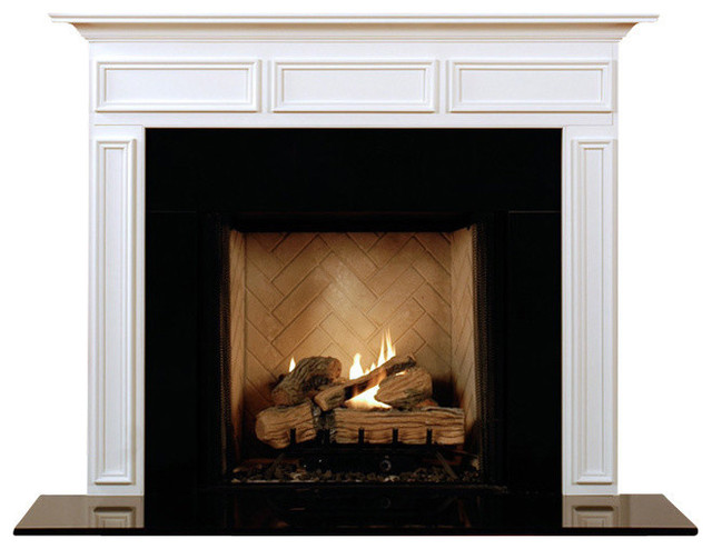 danbury fireplace mantel - modern - fireplace mantels -mantelcraft