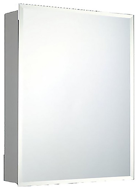 "Deluxe Series Medicine Cabinet, 24""x30"", Beveled Edge, Surface Mounted"