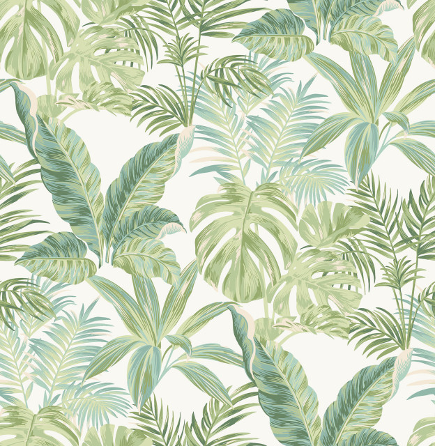 Madagascar Peel Stick Wallpaper Tropical Wall Decals By Wallpops