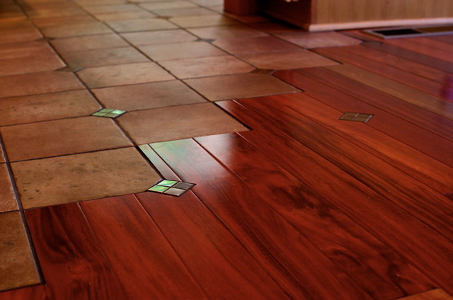 Floor Transition Traditional Kitchen Portland By - Hardwood floor transition