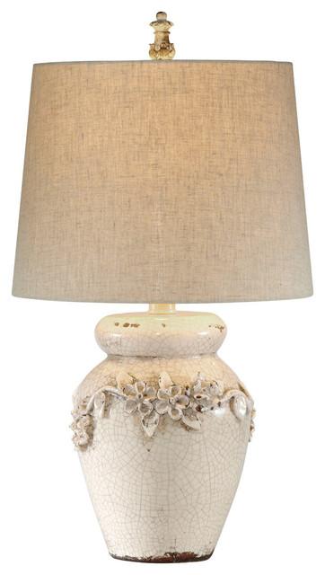 Marguerite Ceramic Table Lamp.