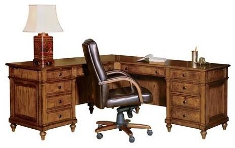 Hekman Furniture Hekman Urban Executive L Desk Desks And