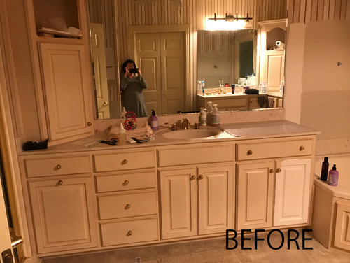 Align The Light To The Mirror Or Sink For An Offset Sink