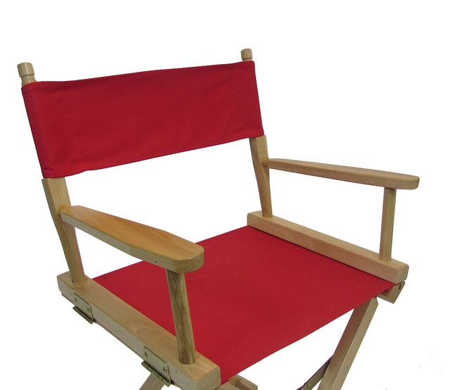 Canvas Directors Chair Replacement Cover Set Flat Stick