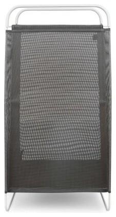 Umbra Cinch Laundry Hamper Grey/white.