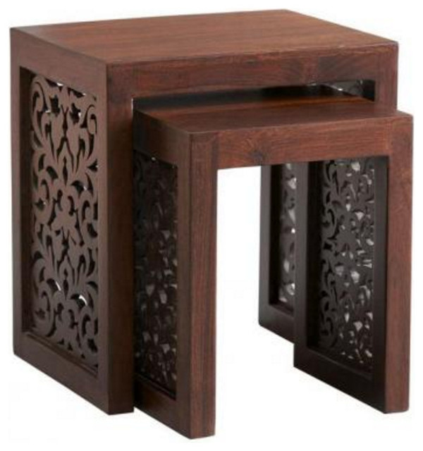 Maharaja nesting tables side tables and end tables by for Furniture 08054