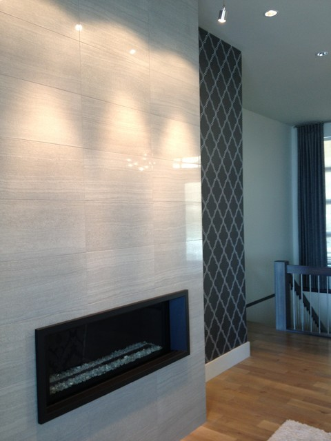 Living Room Feature Wall Design: Living Room Fireplace Feature Wall