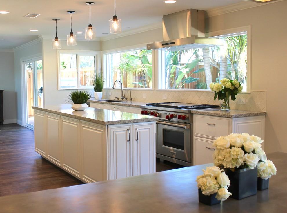 Huntington Beach - Reborn Cabinets Kitchen Remodel ...