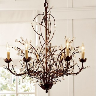 Camilla chandelier by pottery barn mozeypictures Choice Image