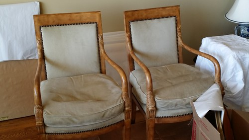 How Do You Feel About Vinyl Instead Of Leather On French Chairs?