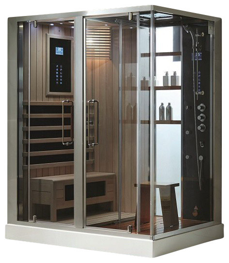 southwood steam sauna contemporary steam showers by. Black Bedroom Furniture Sets. Home Design Ideas