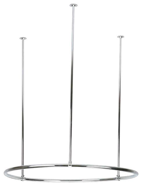 Shower Curtain Rod Chrome 32 Round
