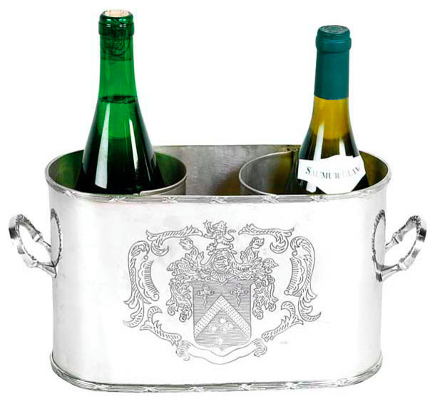 Double Wine Cooler Eichholtz Maggia Traditional Ice Tools And Buckets By Oroa 1 Eichholtz Furniture Store