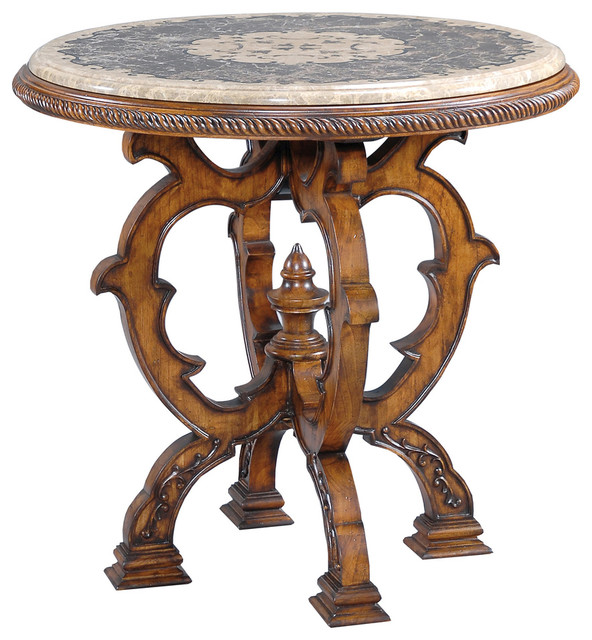 Mosaic Table   Small Traditional Side Tables And End Tables