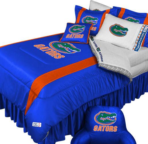 Store51 LLC NCAA Florida Gators Bedding Set College Football Bed