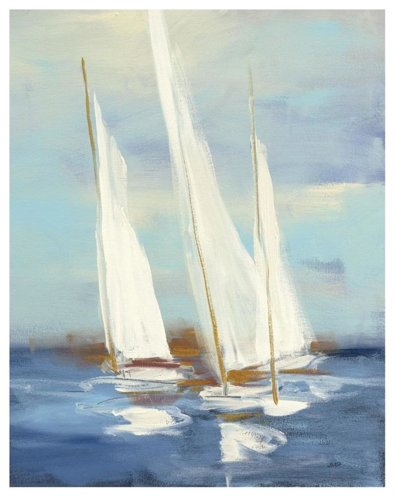 at The Regatta III Canvas Artwork 22 x 28 Global Gallery Courtney Prahl