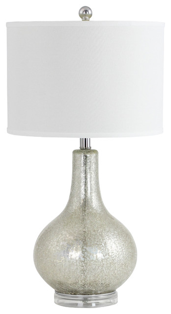 Attrayant Caro Antique Style Mercury Glass Table Lamp