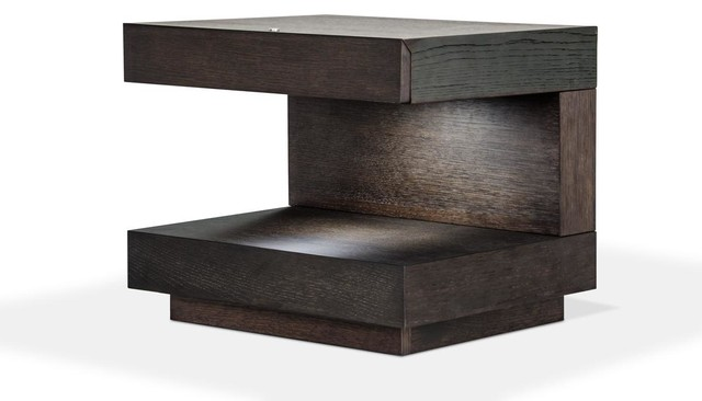 Modern night stand Drawer Esso Modern Nightstand Modern Nightstands And Bedside Tables By Eurolux Furniture Houzz Esso Modern Nightstand Modern Nightstands And Bedside Tables